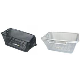 Basil Capri Paketållar-korg svart/vit